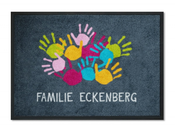 Familienname-anthrazit