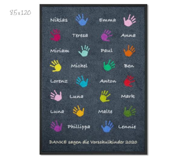 KITAmatte Hände + Namen