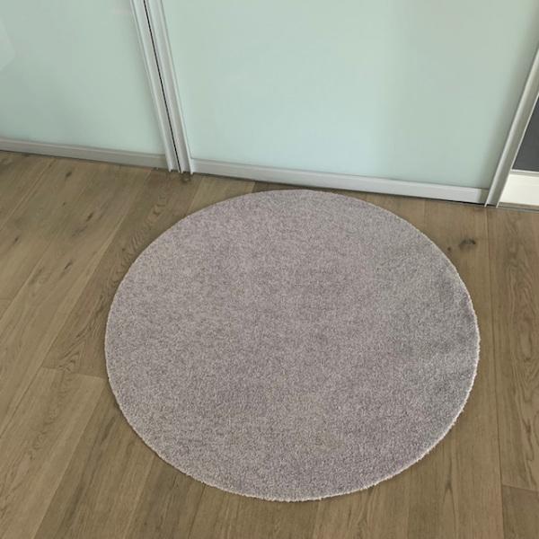 UNI graubeige / Durchmesser 100cm / ohne Trittrand-0184