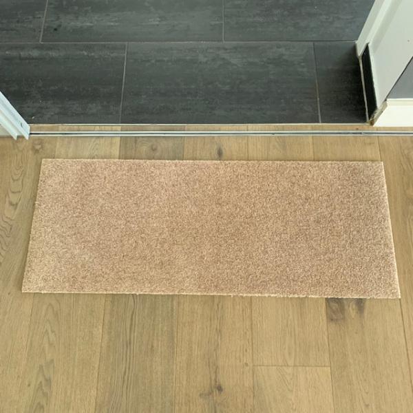 Uni Sand (ohne Bedruckung) / 100x40 cm / ohne Trittrand-0125