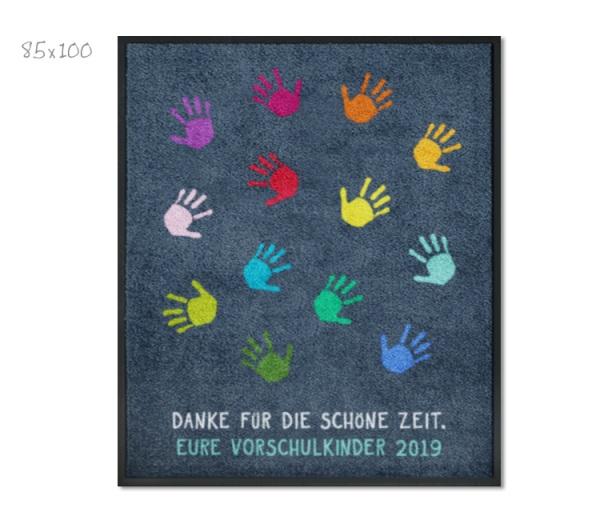 Kitamatte Hände Für Kindergartenabschied Ohne Namen