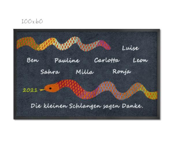 KITAmatte Schlange + Namen