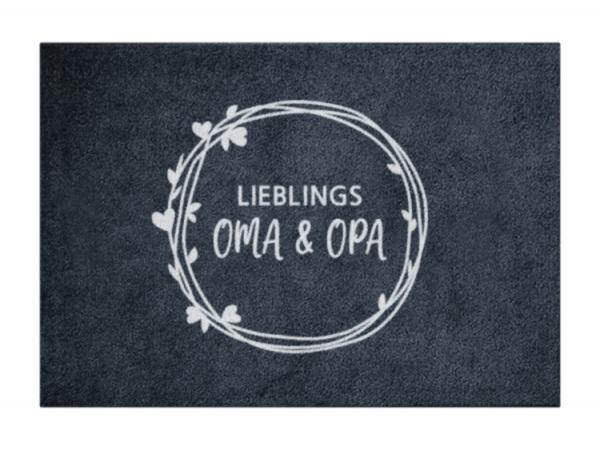 Matte Herzchenkranz OMA+OPA