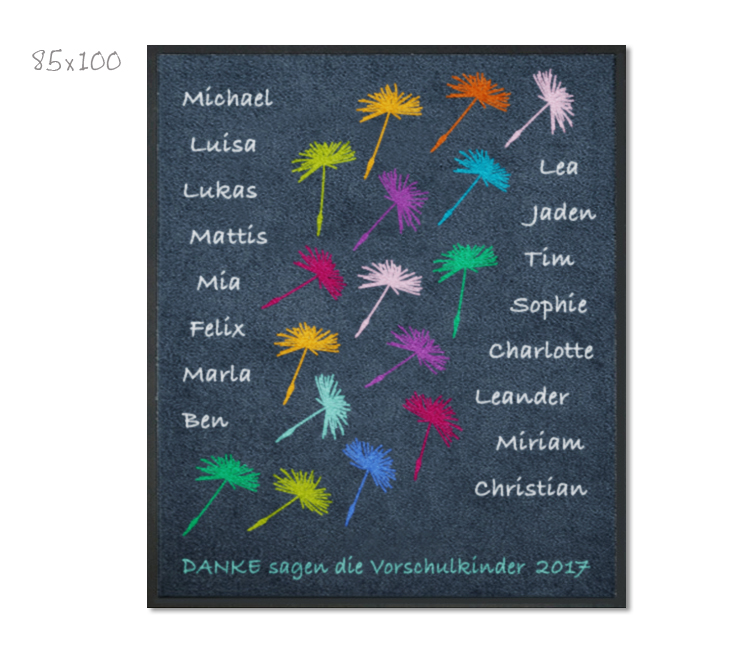 Kitamatte Pusteblumen Namen F 252 R Kinder Mattilde