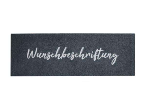 Stiefel- + Terrassenmatte mit Wunschbeschriftung