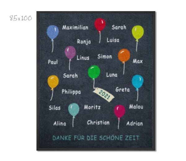 KITAmatte Ballons + Namen